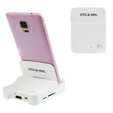 OTG MHL To HDMI HDTV Adapter For Samsung Galaxy S3 S4 Note 2 Note 3 UK