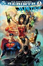 JUSTICE LEAGUE VOL.3 #1 EBAS MOST GOOD HOBBY COLOUR VARIANT DC COMICS