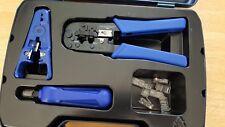 DataShark Network Tool Kit With Case 70007 Data Shark Used