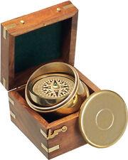 Kasper & Richter Montego Bay Boat compass in wooden display case