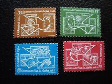 ROUMANIE - timbre yvert et tellier  aerien n° 162 a 165 n** (C5)stamp romania (E