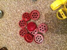 LEGO 4 pneumatici e ruote contrassegnato 56902 in Grigio Con Pneumatici