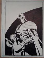 famous artist CITIZEN V Thunderbolts Drawing ORIGINAL COMIC ART Marvel DC board