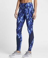 Nike Power Epic Lux Women's Printed Tights 'Binary Blue' (M) 831617 429
