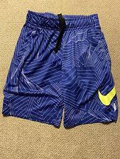 Boys Nike Blue Volt Shorts XS