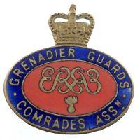 Royal Grenadiers Guards Comrades Ass Enamelled Lapel Pin L904