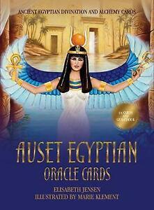 Auset Egyptian Oracle Cards, Elisabeth Jensen,  Paperback