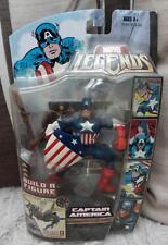 MARVEL leyendas Capitán América Baf Figura Cría Avenger