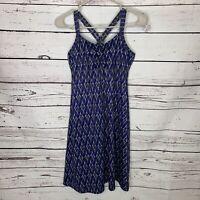 Marmot Women's Purple Taryn Sleeveless Athletic Racerback Dress Size Small L27