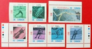 Canada Stamp 1112a + 1153a (se-tenant pairs) +1070 / 1130-1131 MNH
