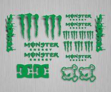 20 Étiquette Monster Energy Yamaha Autocollant Sticker Verte