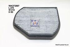 WESFIL CABIN FILTER FOR Mercedes Benz SLK320 3.2L V6 2000-2004 WACF2897