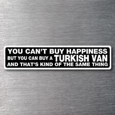 Buy a Turkish Van  sticker quality 7 yr water/fade proof vinyl kitten cat