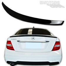 PAINTED MERCEDES BENZ W204 C300 C220 C350 DP TYPE REAR TRUNK SPOILER WING 13
