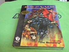 """Reflux: Issue.01 -- """"The Becoming"""" (PC, 1995) - RETAIL BOX - Win V3.1 Version"""