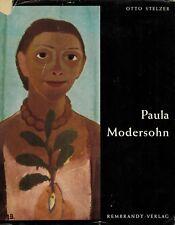 Otto Stelzer, Paula Modersohn-Becker, Worpswede artiste, Rembrandt Verlag'58