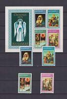 S16763) Bahamas MNH New 1973 Christmas 4v + S/S