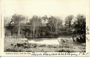 Scotland - Kelso, Menthorn House from the Lake. 1905 to Rosewell, Midlothian