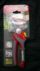 Wolf-Garten RS4000 Anvil Secateurs 25mm