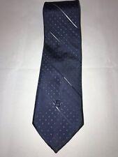 VTG Guy LaRoche Cravattes Striped Blue Dots Classic Men's Neck Tie