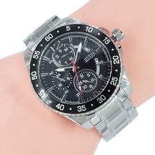 Guess Herren Uhr Chronograph W0797G2 Jet Silber Edelstahl Armband