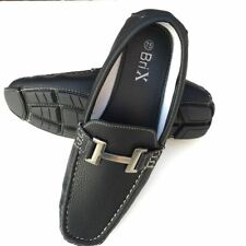 Mens Driving  Casual Shoes Moccasins Leather Loafers Slip On  Size; 7.5--13