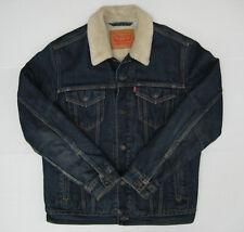 Levi's sherpa denium jacket - size M - 92cm