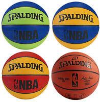 Spalding NBA Mini Basketball, 4 Colors