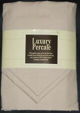 NEW EMPEROR SIZE (7FT) DUVET COVER SET WITH 2 PILLOWCASES  - BEIGE