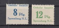 BY7083/ GERMANY – RUSSIAN ZONE – SPREMBERG – MI # 23A / 24A COMPLETE MNH SIGNED