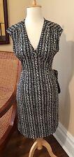 Tory Burch 100% Silk Wrap Dress -Size Medium
