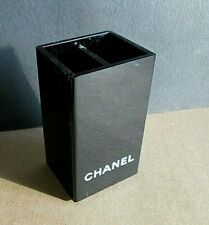 CHANEL PERFUME LUCITE BLOTTER CARD PEN PENCIL HOLDER RARE RETAIL PLASTIC DISPLAY