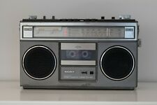 Sony CFS-55S Stereo Cassette Recorder FM/AM Radio mit Tape Stereo Anlage Boombox