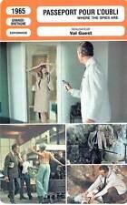 FICHE CINEMA : PASSEPORT POUR L'OUBLI - Niven,Dorléac 1965 Where The Spies Are