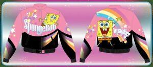JH designer jacket Kids - spongebob pink
