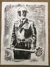 Shepard Fairey - Obey Giant - Damaged Art Show 2017 - My Florist is a Dick 18x24