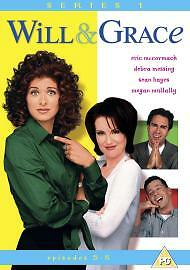 Will and Grace: Series 1 (Episodes 5-8) [DVD] [2001] - Brand New & Sealed