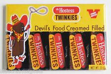 Chocolate Twinkies FRIDGE MAGNET (2 x 3 inches) hostess box twinkie the kid