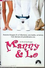 Manny & Lo (1997) VHS CIC   1a Ed.  Lisa Krueger