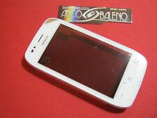Kit Vetro Touch screen per Nokia Lumia 710 Bianco +Cover Telaio INVIO TRACCIATO