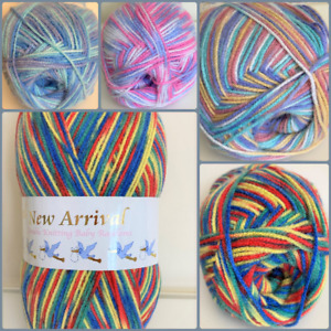 Woolcraft Random DK Yarn ~ 200 grams ~ Various Colours ~ Knitting & Crochet
