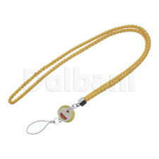 Multifunctional Lanyard Large Yellow Cat Face for Android Devices