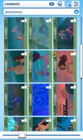 Topps Disney Collect - Pocahontas Story cards forest set + award DIGITAL
