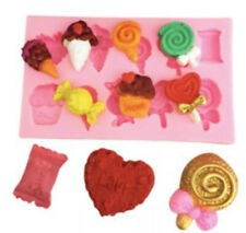 Sweet Treats Ice Cream Lolly Mould Cupcake Silicone Mould