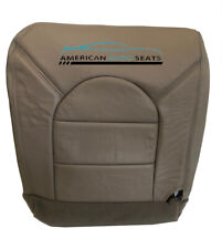 2000 Ford F250, F350 Lariat Crew Cab XLT Driver Bottom Leather Seat Cover Tan