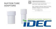 Dental suction tube convertor Saliva Ejector Suction adaptor 2PCS