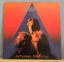 THE POLICE Zenyatta Mondatta 1980 UK vinyl  LP + INNER EXCELLENT CONDITION    L