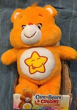 "Care Bears & Cousins Laugh-a-Lot Bear 15"" Plush Bear New 2017 Free Shipping"