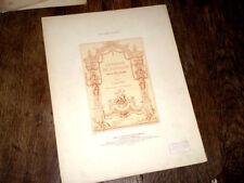chanson du papillon des Fêtes Vénitiennes de Campra piano chant 1909 Wekerlin