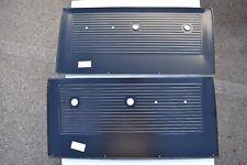 1967 1968 1969 1970 1971 Chevy Truck 2 Door Panels, Metal Black, Chevrolet  GMC